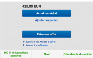 faire offre ebay